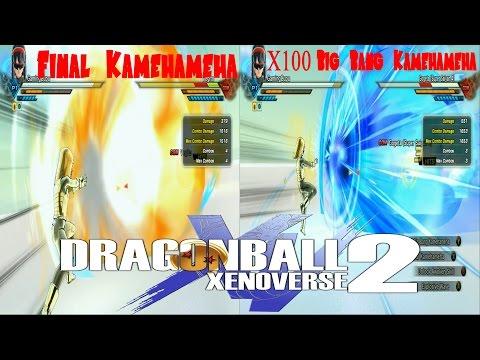 Final Kamehameha VS X100 Big Bang Kamehameha Dragon Ball Xenoverse 2