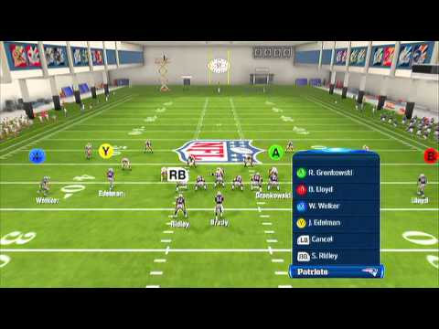 Madden 13 - Nearly UNSTOPPABLE Pass Play 1 | New Hot Routing Motions | Normal Flex Weak Pats