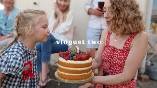 DELILAH'S 3RD BIRTHDAY | VLOGUST #2
