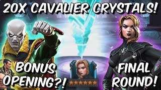 Download 20x 6 Star Vision & Black Widow Cavalier Crystal Opening Final Round! - Marvel Contest of Champion Video