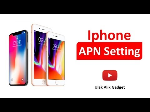 APN Setting Iphone 8 - Iphone 7 - Iphone 6s - Iphone 6