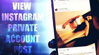 How to VIEW Private Instagram Profiles - PakVim net HD Vdieos Portal