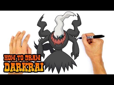 How to Draw Darkrai | Pokemon