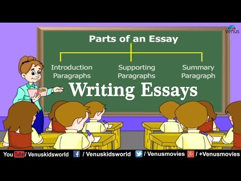 Parts Of an Essay ~ Writing Essays