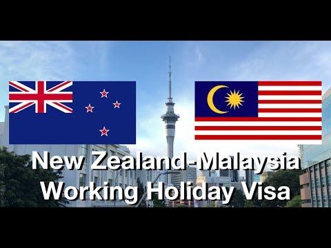 WORKING OVERSEAS: Malaysia Working Holiday Visa New Zealand (English)