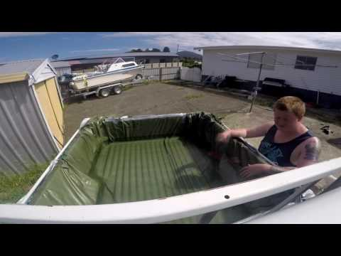 How To: Turn your ute into a pool!