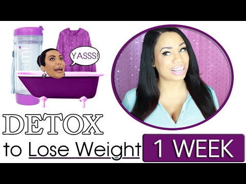 How to Detox your Body to Lose Weight in 1 Week