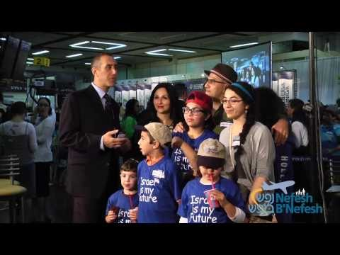Nefesh B'Nefesh: Making Aliyah: NBN Charter Flight - Interviews with Olim - July 2013 | NBN