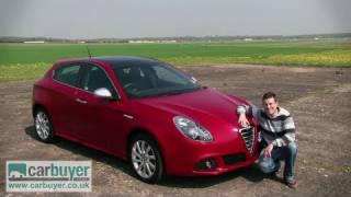 Alfa Romeo Giulietta hatchback review - CarBuyer