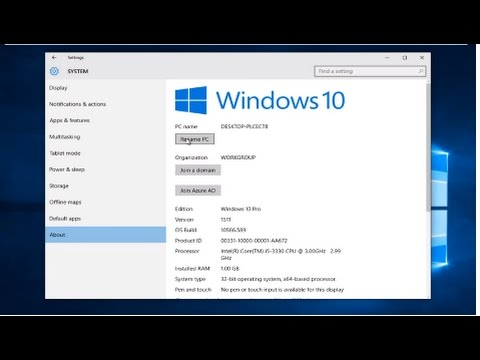How To Change Your Username / Computer Name In Windows 10