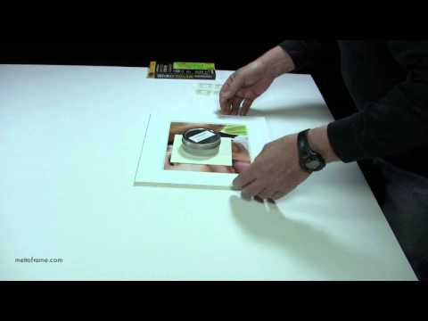 How to attach mounting corners on works on paper