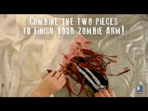 DIY Zombie Arm Tutorial