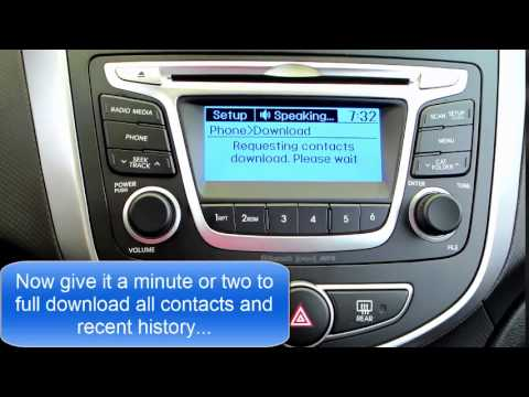 How to Connect your iPhone to the '15 Hyundai Accent GL!