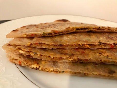 Wheat Chicken porotta Iftar Special /Chicken  paratha recipe
