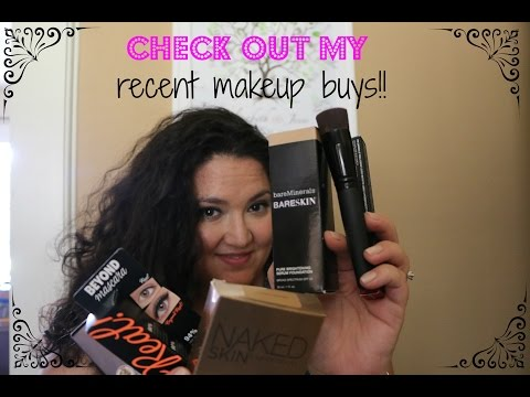 Check out my recent make up purchases