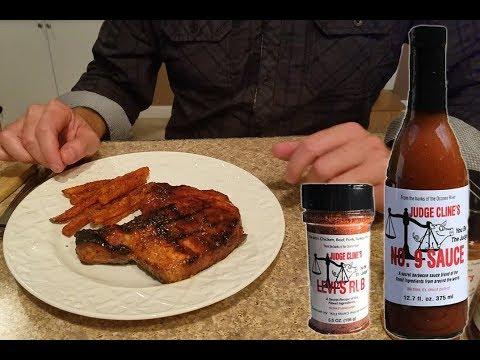 Grilled Bone In Thick Cut Pork Chop