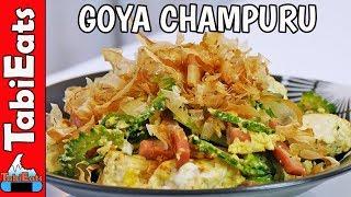 Goya Champuru-Bitter Melon & Tofu Stir-Fry (Okinawan Recipe)