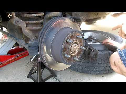 Project XJ Winter Beater: Part 14 XJ Brake Pads and Rotors