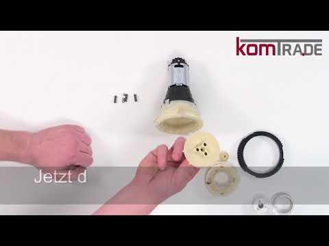 Miele CM7xxx Mahlscheiben (Mahlring/Mahlkegel) ersetzen-justieren-tauschen Reparaturanleitung