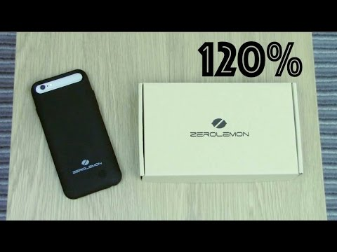 iPhone 6 Battery Case Charges Phone 120% !