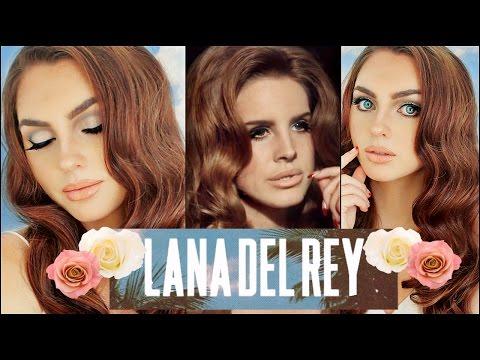 LANA DEL REY Makeup & Hair Tutorial | Born To Die | 60's🌼