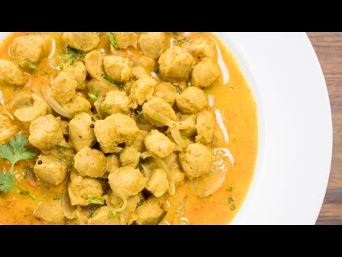 Soya Chunks Curry / Meal Maker Recipe   Weight Loss Recipes   Indian High Protein Recipes