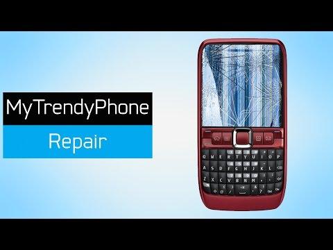 How to Repair LCD Display on Nokia E63, E71, E72
