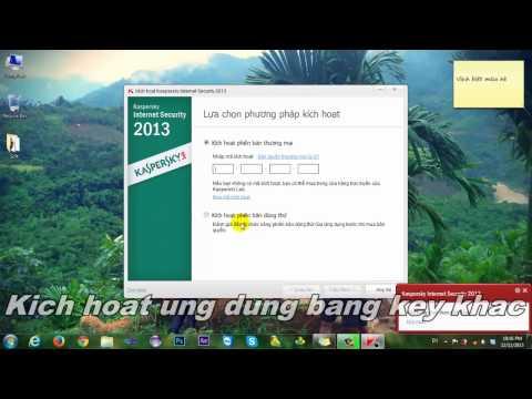 Hướng dẫn kích hoạt Kaspersky Internet Security 2013 (KIS 2013) bằng file key (cho newbie)
