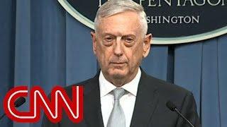 Mattis: Assad didn