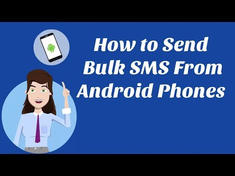 How to Send Bulk SMS From Android Phones?