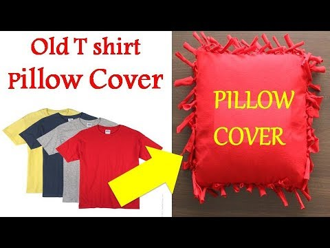 Cool Thing to Make From Old T-Shirts | Old Tshirt Reuse | T-shirt recycling Idea | Best out of waste