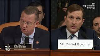 WATCH: Rep. Doug Collins' full questioning of committee lawyers | Trump impeachment hearings