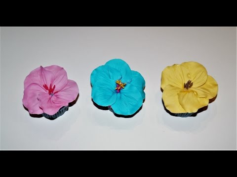 Cake decorating tutorials | how to make Hibiscus cupcakes | Sugarella Sweets