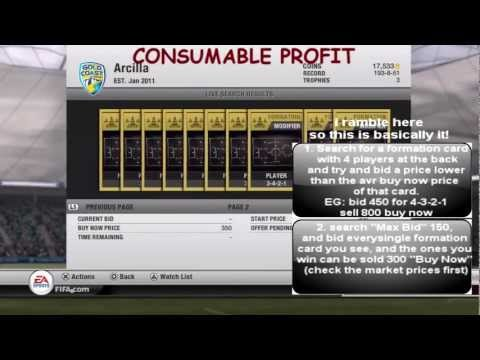 FIFA 12 Ultimate Team : The Ultimate Coin Making Tips Guide ! - Tutorial!