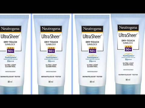 Neutrogena Sunscreen SPF 50 REVIEW in Hindi