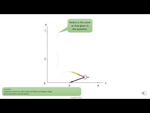 Gr8   Tutorial 19   Touch arc on an angle