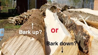 Scientific Proof For How To Stack Your Firewood??