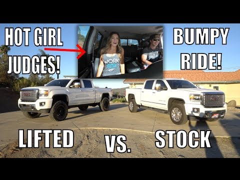 DO LIFTED TRUCKS RIDE BETTER THAN STOCK?!