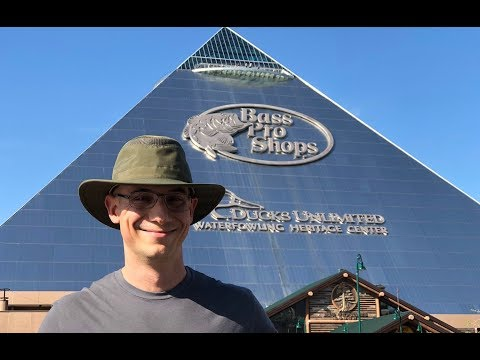 There's a Pyramid in Memphis Tennessee! Bass Pro Shops Megastore
