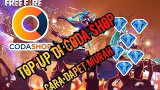 Tutorial Top Up Diamond Free Fire Murah Via Coda Shop!! 3GP