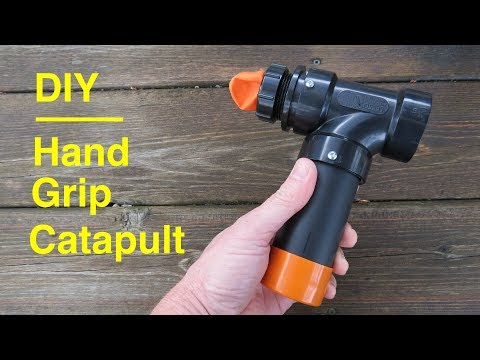 How to Make ●  Pocket Catapult Hand Grip
