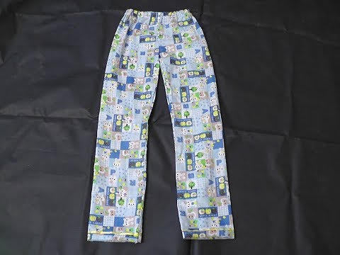 KIDS COTTON NIGHT DRESS PANT CUTTING AND STITCHING IN TAMIL