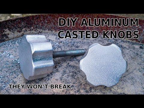 DIY Aluminum Casted Knobs