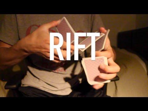Rift//Card Flourish Tutorial//Learn Cardistry