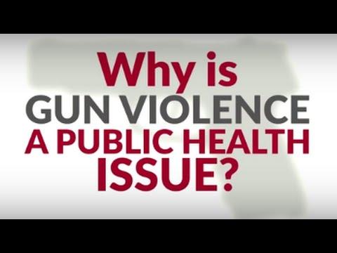 Why is gun violence a public health issue?