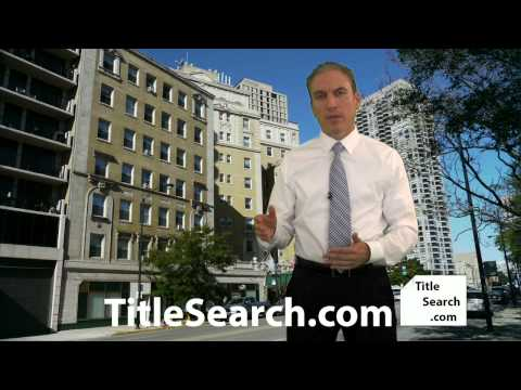What type of title search should you get when bidding on an auction property? | AFX