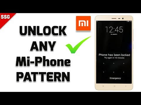 How to Remove Pattern Lock in All Xiaomi Redmi Phones ?