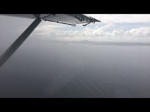 Round trip flight from Prince Rupert to Haida Gwaii in bad weather.