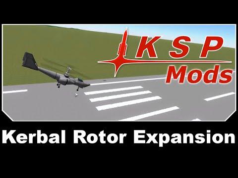 KSP Mods - Kerbal Rotor Expansion