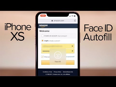 How to use Face ID Safari Autofill on iPhone X!